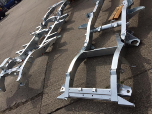 We can supply and fit galvanised chassis